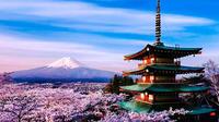 Photogenic Mount Fuji and The Itchiku Kubota Art Museum by private car