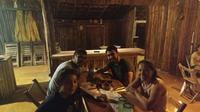 Enjoy a traditional  mayan dinner