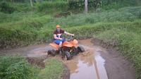 ATV Ride - White Water Rafting - Zip Line Full-Day Adventure