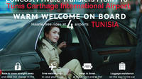 Tunis Carthage Private Arrival and departure Airport Transfer to Mahdia Private Car Transfers