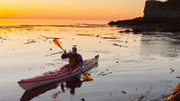 Sunset Sea Kayaking Near Olympic National Park