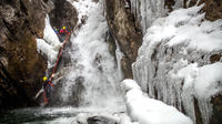 Winter Ice Canyoning in Hautes-Pyrenees from La Mongie