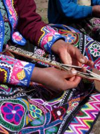Amaru Community Visit Including Weaving Workshop
