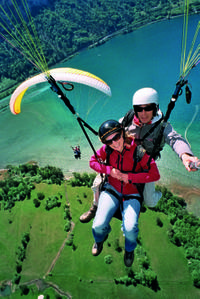 Paragliding Experience from Interlaken