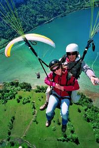 Tandem Paragliding Experience from Interlaken