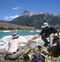 Trekking Glacier Torrecillas at Los Alerces National Park