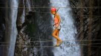 Via Ferrata Vertige De L'Adour in The Pyrenees with Accommodation and Breakfast Included
