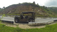 Arrival Transfer from Da Nang Airport to Hotel in Army Jeep Private Car Transfers