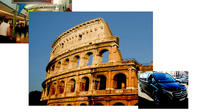 Free Arrival Private transfer from Rome Airport then Private Rome Full Day Tour Combo Private Car Transfers