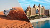 Dubai Morning Tour and Afternoon Desert Safari with BBQ dinner