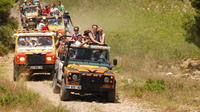 Day Tour: Jeep Safari and White Water Rafting from Alanya