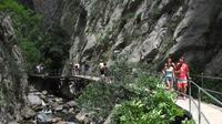 Sapadere Canyon Jeep Tour and Village Visit from Alanya