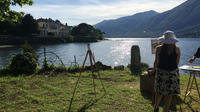 Plein-air Painting Experience on Lake Como and Wine Tasting