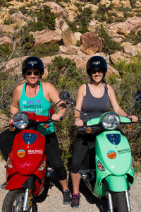 Scooter Tours of Red Rock Canyon