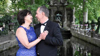 Paris Luxembourg Gardens Wedding Vows Renewal Ceremony with Photoshoot