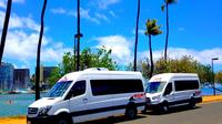Departure Transfer: Airport Shuttle Honolulu and Waikiki or Cruise Terminal Private Car Transfers