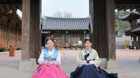 Korean Martial Arts and Beauty of Hanbok