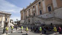 Squares and Fountains of Rome by New Generation of Segway