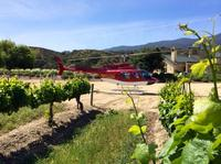 Monterey Helicopter Experience Including Wrath Winery Tour