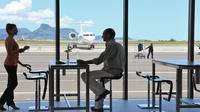 YU Lounge at Mauritius Airport