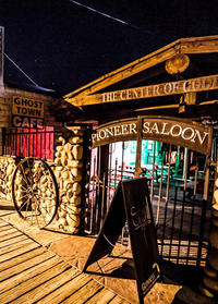 Star Gazing Tour at the Pioneer Saloon from Las Vegas