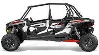 Polaris RZR 1000cc 4-Seat Half-Day Rental