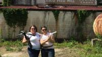 Walking Dead Filming Location Tour in Haralson