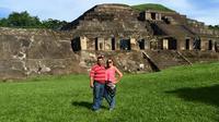 Maya Ruins Tazumal, Joya De Ceren And San Andres From Santa Ana