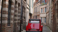 Unique Tour of Lille by Convertible 2CV with Private Driver-Guide including Champagne Break