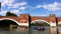 Rafting in Verona on the river Adige