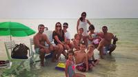 Dolphin Bay: Remote Natural Beach Getaway Day Cruise From Abu Dhabi