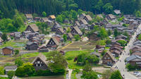8-hour Private Chartered Taxi Plan to Shirakawago and Hida Takayama from Nagoya