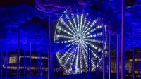 Unique Lights Show at Swarovski Crystal Worlds