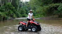 Private Tour: Full-Day Quad Bike Tour with White Water Rafting from Bali