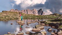Photoshooting in the Dolomites - lakes and mountais