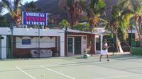 St Martin Tennis Excursion: Hitting with the Pro