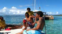 Catamaran Trip to Gabriel Island via Coin de Mire with Lunch and Snorkeling - , , Mauritius