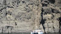 Sailing Cruise in Santorini to Red Beach and Akrotini