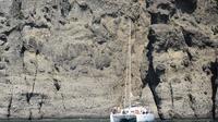 Santorini Sailing Cruise to Red Beach and Akrotini