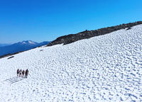 Whistler Glacier Walk and Glissading