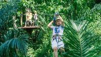 White-water Rafting with Ziplining from Phuket