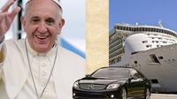 Private Full-Day Papal Audience and Rome from Civitavecchia