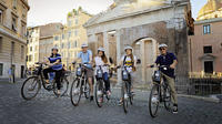 Appian Way in Rome with Bicycle