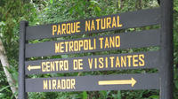 Metropolitan Natural Park Tour in Panama City
