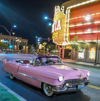 Las Vegas Pink Cadillac Strip Photo Tour with Elvis