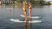 Lake Norman 1.5-Hour Sunset Paddleboard Tour