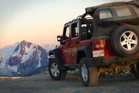 Blackcomb Glacier Safari by Jeep 4x4
