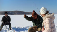 Smelt Ice Fishing Experience in Kushiro