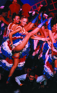 Seine River Dinner Cruise with 'La Marina de Paris' and Moulin Rouge Show