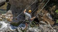 Zip Line in a Canyon Park Adventure